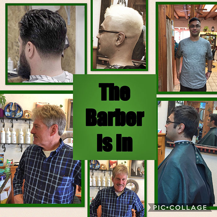 The Barber is In